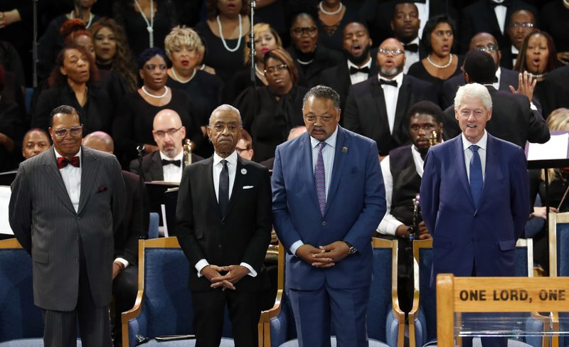 At Franklin's funeral, a call for respect for black America