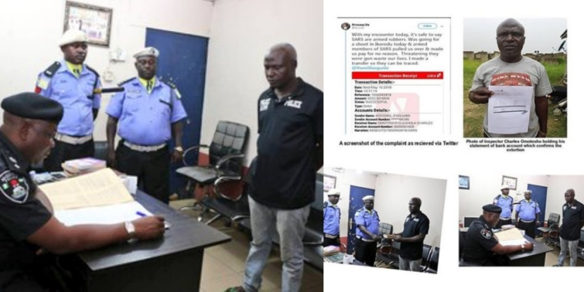 SARS officer finally sacked over N5,000 extortion