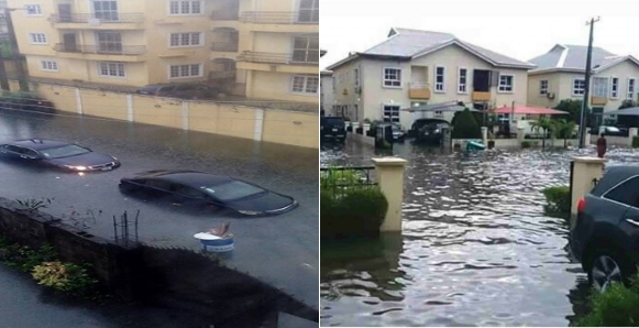 Ibeju Lekki residents lament as they lose valuables worth millions of Naira to flood