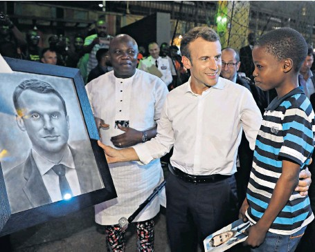 How 11-Year-Old Artist, KKareem's Changed After Drawing President Macron – Manager