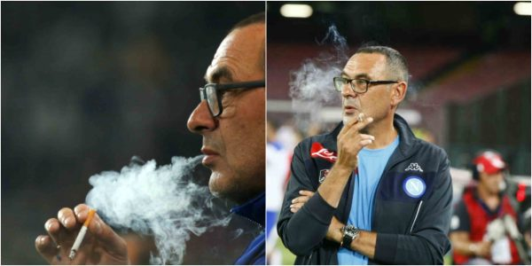 maurizio sarri Chelsea Coach Reveals The Only Person Who Can Make Him Quit Smoking