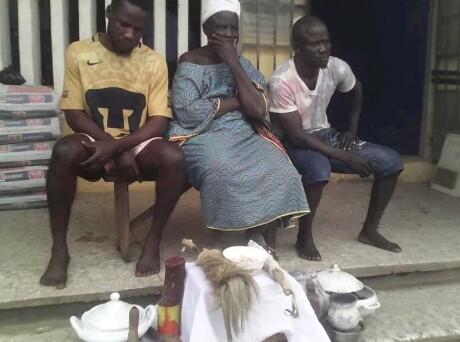 Mother And Her Sons Who Run Kidnapping Gang Arrested In Lagos (Photo)