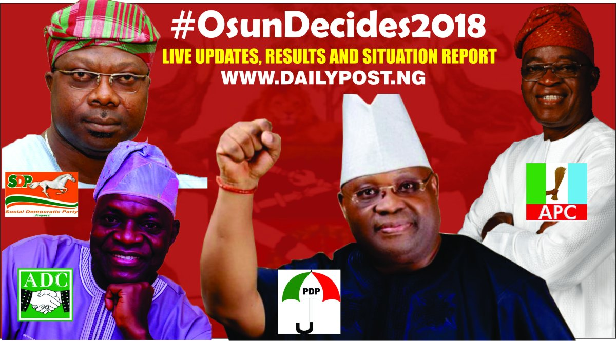 Osun Decides: Live Election Results