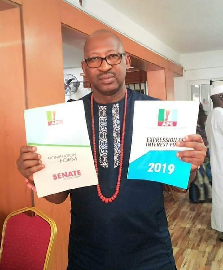 Patrick Obahiagbon Picks APC Nomination Form (Photos)