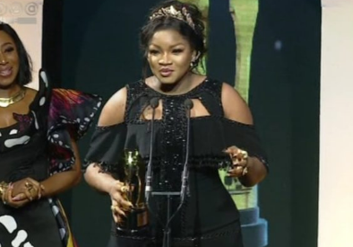 Omotola wins best actress in a drama AMVCA