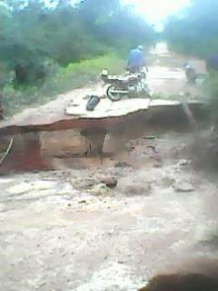See A Road Like Death Trap In Kwara