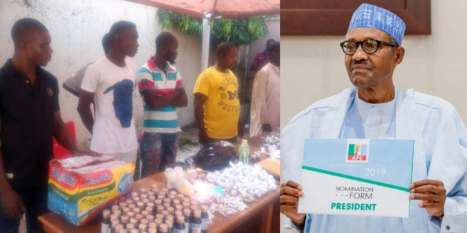 THERE IS NO JOB ANYWHERE – ARRESTED MARIJUANA SELLER TELLS NIGERIANS