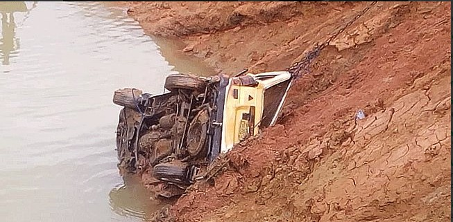 Car Accident Into Water