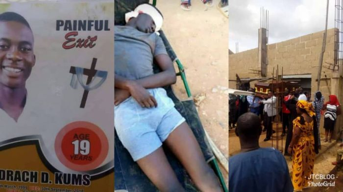Burial Of UNIJOS Student, Shedrach Kums Shot Dead By Soldier