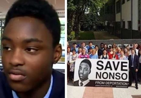 Boy Court Orders Stop To The Deportation Of A Nigerian Schoolboy Following Protest By Classmates