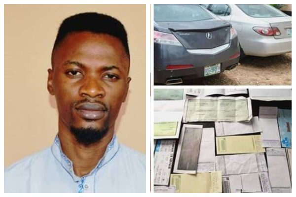 EFCC Arrests MAN Over FRAUD