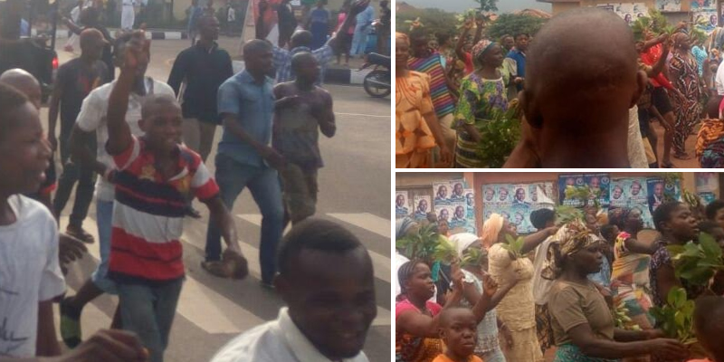 Angry Residents chase Ekiti monarch and family out of town
