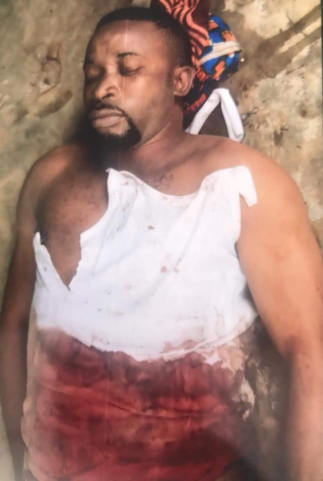 emmanuel asuquo shot dead in akwa ibom state Brother Of APC Chairman Shot Dead In Akwa Ibom State (Graphic Photos)