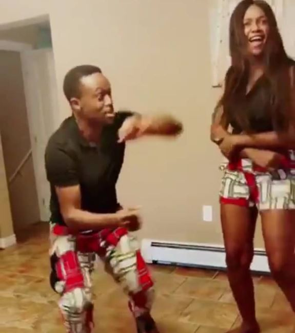 """Omoni Oboli's Husband Beat Her During """"Dance Competition"""" In Hilarious Throwback Video"""