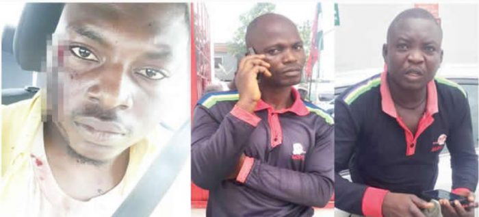 policemenarrest Photo Of Two Policemen Arrested For Beating Businessman In Lagos
