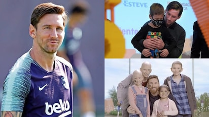 Messi donates £2.37m to help build hospital for children in Barcelona