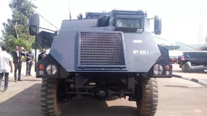 Police Tank Innoson to construct armoured vehicles for police
