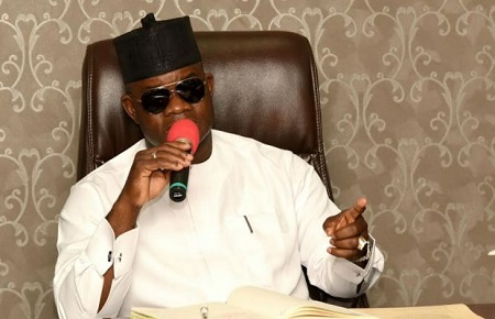 Yahaya Bello Kogi Government To Pay Salary & Pension From N6.17bn Allocation