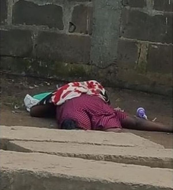electric shock Female Trader Electrocuted By Fallen Cable At Agege, In Lagos (Photo)